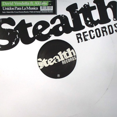 David Vendetta - Unidos Para La Musica (Single)