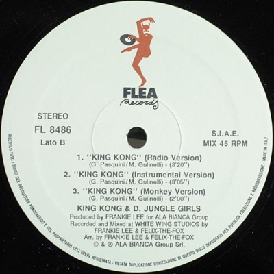 King Kong & D'Jungle Girls - King Kong