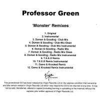 Professor Green - Monster (Remixes) (Single)
