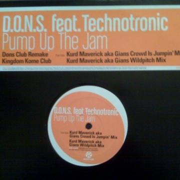 D.O.N.S. - Pump Up The Jam (Remixes) (Single)