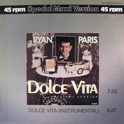 Ryan Paris - Dolce Vita (Original Version) (Single)