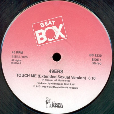 49ers - Touch Me (Single)