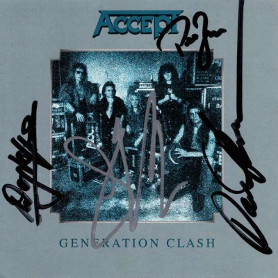 Accept - Generation Clash (Single)
