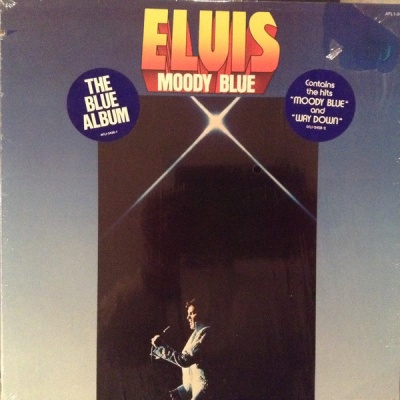 Elvis Presley - Moody Blue (Album)
