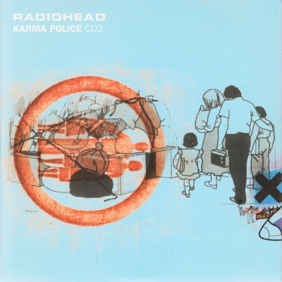 Radiohead - Karma Police CDS CD2 (Single)