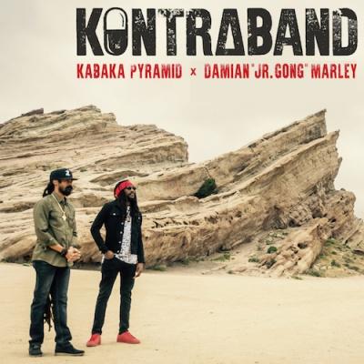 Kabaka Pyramid - Kontraband  - Ghetto Youth International - PROMOTIONAL COPY (Single)