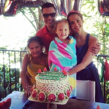 Младшей дочери Джессики Альбы исполнилось 5 лет