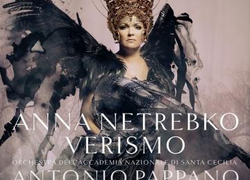Анна Нетребко презентовала новую пластинку