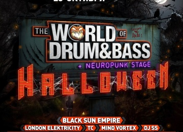 Главный международный Drum&Bass фестиваль снова в Питере