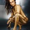 Солистка группы Serebro покрылась золотом в эротической фотосессии