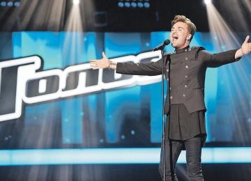 Александр Панайотов ворвался в финал «Голоса-5»
