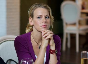 Актриса Александра Ребенок впервые стала мамой