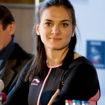 Спортсменка Елена Исинбаева ждет второго ребенка