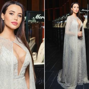 Анастасия Решетова надела платье стоимостью один миллион рублей