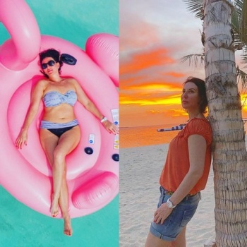 50-летняя Алика Смехова показала фигуру в бикини