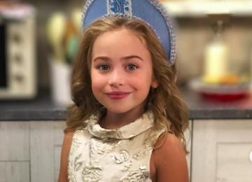 Пользователи Сети сравнили дочь Тутты Ларсен с Эмилией Кларк