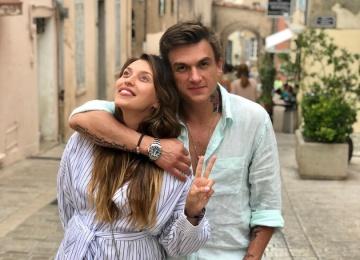 Беременная Регина Тодоренко появилась в клипе своего возлюбленного