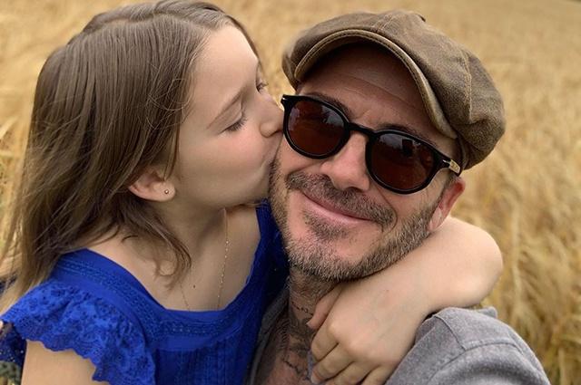 Дэвид и Виктория Бекхэм отметили день рождения дочери