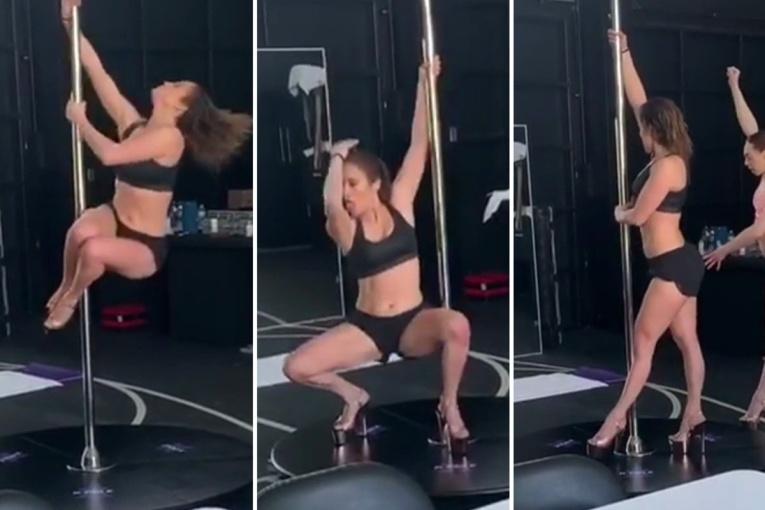 Дженнифер Лопес примерила роль стриптизёрши